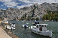 Ujście rzeki Cetynii Europe