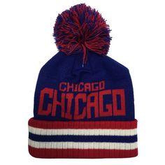 85381e843f1 City of Chicago Gordo Pom Flag Knit by ThirtyFive55