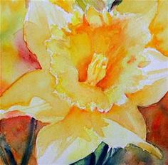 Ruth Harris from fineartamerica.com Daffodil Watercolor Paintings - Bing images