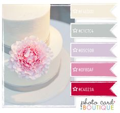 Color Crush Palette · 10.3.2011 - Photo Card Boutique, LLC