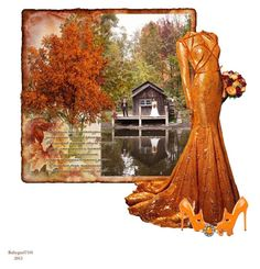 Autumn Wedding by babygurl7191 on Polyvore featuring moda and Nicolas Jebran