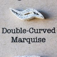 Double-Curved Marquise
