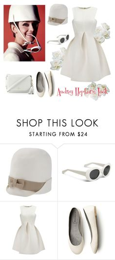 """""""Audrey Hepburn 4"""" by catalina86 ❤ liked on Polyvore featuring Givenchy, Dsquared2, WithChic and Kate Spade"""