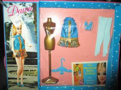 VINTAGE TOPPER DAWN #8112 FLIRTY FLOUNCE OUTFIT NEW IN THE PACKAGE #TOPPER