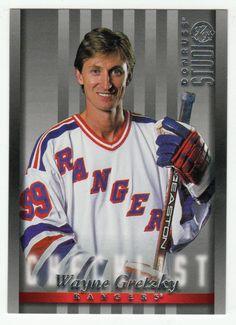 Wayne Gretzky # 109 - 1997-98 Donruss Studio Hockey Hockey Cards, Baseball Cards, Ice Hockey Players, Wayne Gretzky, National Hockey League, Trading Cards, Nhl, Mint, Studio