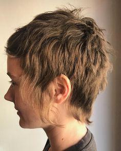 "82 Likes, 3 Comments - Public Barber Salon (@publicbarbersalon) on Instagram: ""⚽️ euro razor . . . #hairstyle #fashion #bangs #euro #punkrock #mullet #shorthair #womensfashion…"""
