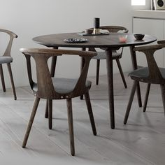In Between Chair SK2 in Smoked oiled oak with Sunniva fabric by Sami Kallio for &tradition.