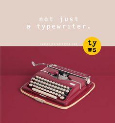 This Adler Tippa typewriter is a stunner!