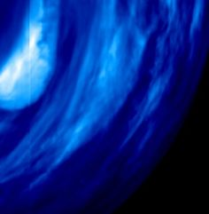 Venus South Polar Region at 1.7 micron from Venus Express. ESA