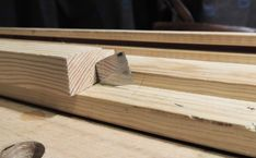 Softwood tops are perfect for sticking things in to. Which comes in handy for swift work holding such as the joiner's bench knife. Woodworking Guide, Woodworking Bench, Woodworking Projects, New Mailbox, Building A Workbench, Workbench Designs, Shed Organization, Things To Come, Good Things