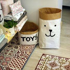 bolsas de papel para niños
