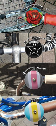 Fast / beautiful / strong / free. How do you feel when you ride your bike? Bicycle bells by Luvelo