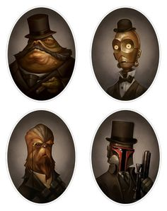 Looking Dapper there Gents - Star Wars