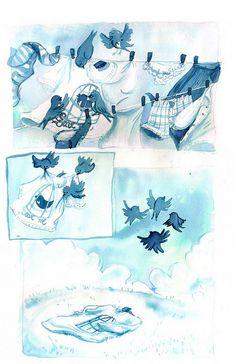 Aquarelas e aguadas - ilustração - Lais Brevilheri