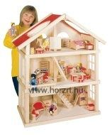 Traditional Doll houses and ethical doll houses for creative and imaginative play. Multi cultural doll houses are educational toys, fairtrade dolls house and green doll house for all little doll house lovers. Dollhouse Kits, Wooden Dollhouse, Dollhouse Furniture, Home Design, Large Wooden Dolls House, Toys For Autistic Children, Real Good Toys, Parker House, Kids Wood