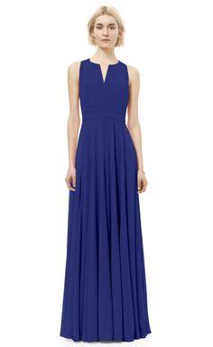 Rebecca Taylor Sleeveless Silk Gown