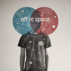 off in space