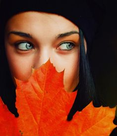 The Leaves of Autumn: Glowing Portrait Photography