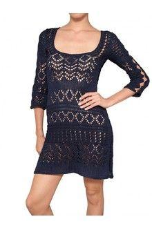 Emilio Pucci Cotton Crochet Dress - Lyst