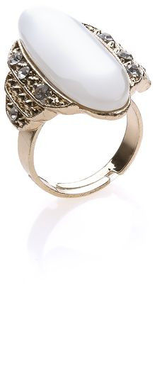 Puerl stone ring