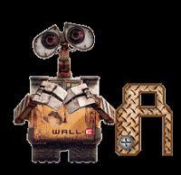 Alfabeto de Wall-E.