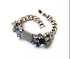 2014 Fashion Shourouk Bracelets European Style Multilayer Opk Stretch Punk Shourouk Bracelet for Women $18.28