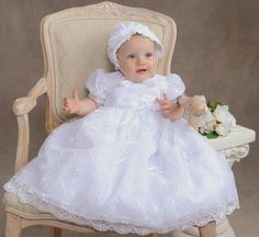 BABY GIRL GOWNS~*~ Blessing, Christening, Baptism, Baby Gowns & Design Ideas...