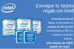 Intel , regala tarjetas regalo.