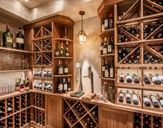 Traditional Wine Cellar by Papro Consulting 25a