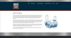 Website we created for Ace Metal, Inc.