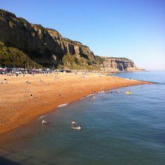 Fishermans beach ~ Hastings, East Sussex, England