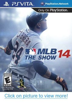 MLB 14 The Show makes its world debut on PlayStation 4 today since it was launched over a month ago on and PS Vita. Emerson, Consoles, Just Dance 3, Nfl, Mlb The Show, Nintendo Wii, Latest Video Games, Ps3 Games, Everything