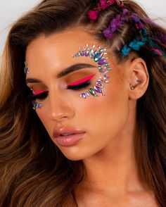 Shop the Shrine's iconic range of face jewels, worn by the stars and festival babes around the world. Carry your makeup look and combine these all in one face gems with our glitter range and make an entrance at any event! Face Gems, Face Jewels, Glitter Face, Red Glitter, Makeup Inspo, Beauty Makeup, Makeup Ideas, Rhinestone Makeup, Jewel Makeup