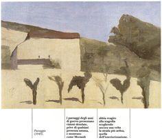 Paesaggio 1943 - Giorgio Morandi