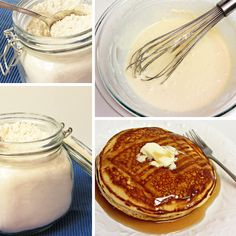 Have you ever made your own pancake mix? It's so simple and the pancakes turn out wonderful. Sure, I know there are times when life is crazy and you're feeling frazzled, so a box of packaged pancake mix makes the most sense, but seriously…give it a try. With just a tiny bit of planning, you …