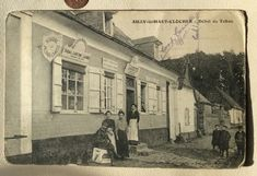 1917 Somme Postcard Camp Conmanders office  | eBay