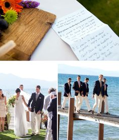 Wedding at Lake Tahoe? I think I could do that