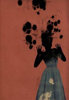 "dialogues: Emmanuel Polanco illustration for ""Studies in Hysteria"" by Sigmund Freud (Penguin Books) (via In Melancholia)"