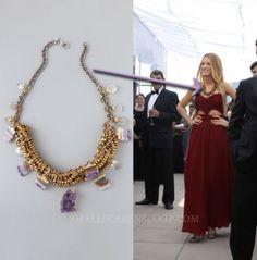 dannijo necklace on Blake Lively