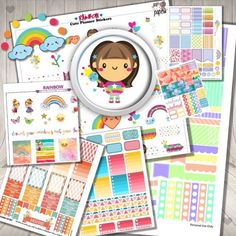 Rainbow Themed Find this amazing Bundle for only us$12.99 (The bundle value is us$20) this is part or the Bundle so you'll get more! Link in my Bio here on Instagram to get this Rainbow Theme don't miss it because is for limited time! .......... We are 9 designer collaborators: @faryeplans @brittneyndesigns @sweet_caress @printstickshop @colorcodesigns @simplybeautifulplans @letspaperup @violetpaperprints ..... #planneraddict #planneraddicts #plannerlove #plannerlover #plannercommunity…