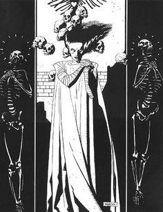 Bride of Frankenstein - Mike Mignola