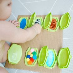 Peek-a-Boo Sensory Board — Baby Play Hacks Baby Sensory Board, Baby Sensory Play, Sensory Boards, Baby Play, Sensory Wall, Sensory Play For Toddlers, Diy Sensory Toys For Babies, Baby Activity Board, Baby Kids