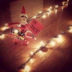 Elf on the shelf idea... Next Year!