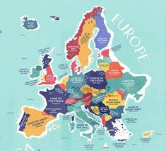 this map shows the literal meaning of every countrys name