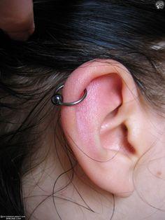 Guide to Ear Piercings:  Definitions & Diagrams