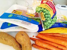 Homemade Dog Food Ingredients.