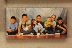 5 x 10 Inch Wood Photo Panel - Your Photos on Wood! - pinned by pin4etsy.com