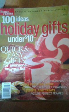 Better Homes & Gardens Special Interest Publication 100 Ideas Holiday Gifts 2002