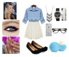 """""""Untitled #15"""" by oliviacoulanges ❤ liked on Polyvore featuring Eos, The 2 Bandits and Uncommon"""