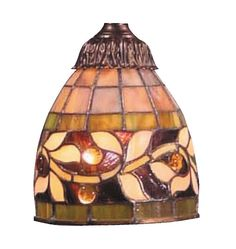 "6"" English Ivy Glass Bowl Pendant Shade"